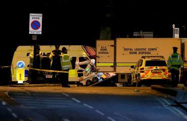 Manchester Arenalla räjähti eilen illalla