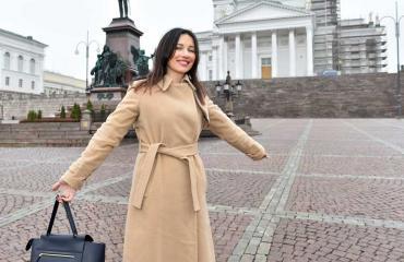 Oksana Chaiko muutti valkovenäjältä Suomeen.