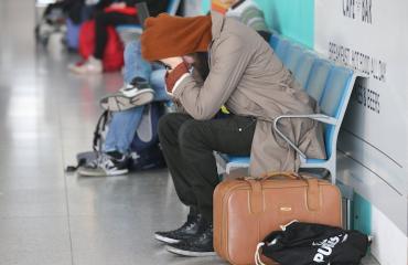 China Southern Airlinesinlento myöhästyi useita tunteja.