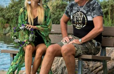 Laulaja Danny ja tangokuningatar Erika Vikman