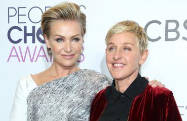 Portia de Rossi ja Ellen DeGeneres