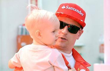 Kimi Räikkönen ja Robin.