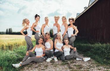 Miss Fitness Finland -finalistit.