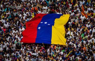 Venezuelan levottomuudet jatkuvat.