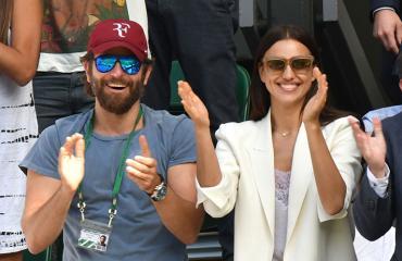 Bradley Cooper ja irina Shayk matsissa