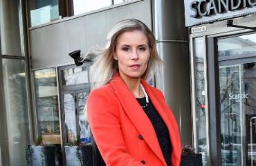 Hanna Kärpänen edusti yksin.