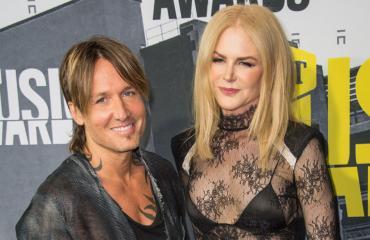 Näyttelijä Nicole Kidman ja muusikko Keith Urban