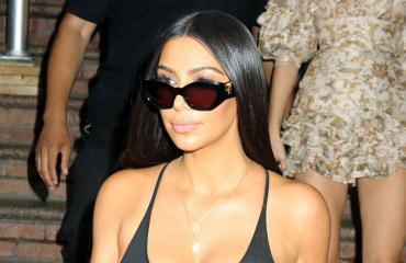 Kim Kardashian nännit esillä