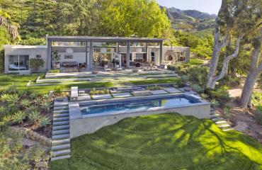Natalie Portman Montecito Talo Kalifornia