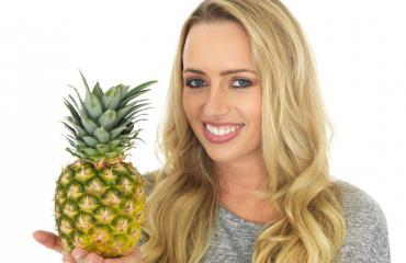 Internetin mukaan ananas vaikuttaa emättimen tuoksuun.