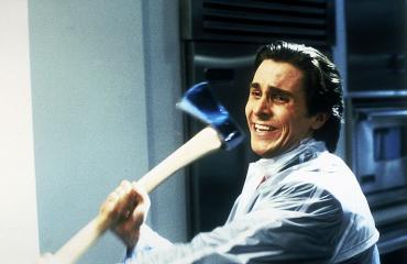 Christian Bale näytteli Amerikan psykoa.