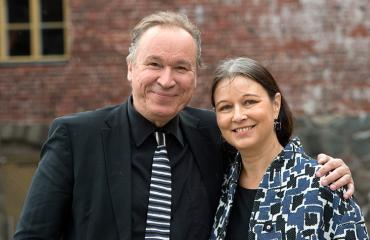 Ilkka Vainio ja Elina-vaimo