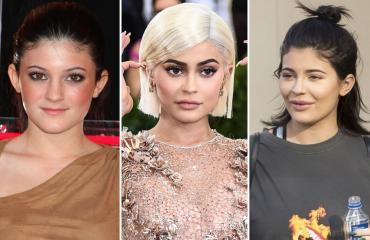 Kylie Jennerin muodonmuutos seitsemässä vuodessa