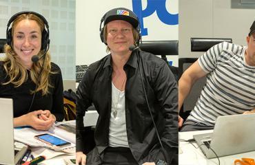 Radio Suomipopin porukkaa