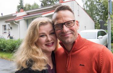 Tarja Smura ja Markus Haapasalo asuvat taas yhdessä.