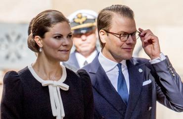 Ruotsin kruununprinsessapari Victoria ja Daniel
