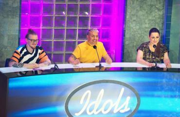 Idols-tuomarit arvioivat kilpailun kärkinimet.