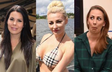 Suvi Pitkänen, Marika Fingerroos ja Katri Sorsa