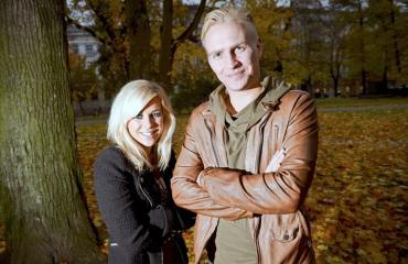 Krista ja Janne ehtivät häämatkalle vasta myöhemmin.