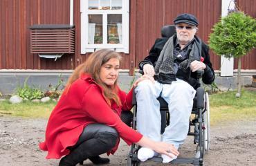 Juhani ja Leila Palmu saivat häädön.