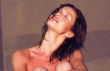 Janina Fry alasti Kuubassa