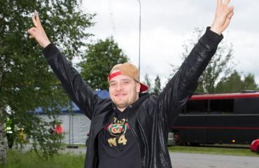 Räppäri Tuomas Kauhanen löysi uuden rakkaan.