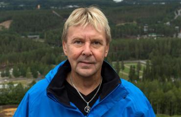 Matti Nykänen oli Seiskan pikkujouluristeilyllä.