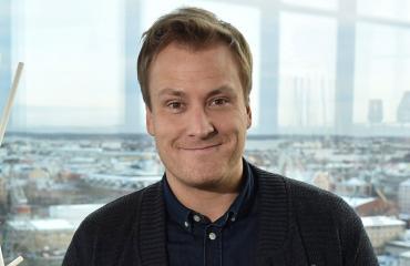 Heikki Paasonen innostui piparista.
