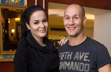 Amin ja Nadia treenaavat yhdessä.