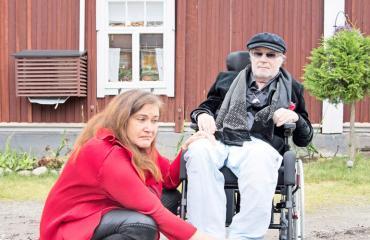 Juhani Palmu joutui sairaalaan.