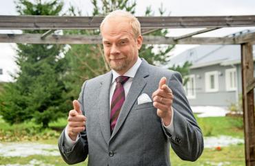 Ville Myllyrinne on asemoinut itsensä tietynlaisiin rooleihin.