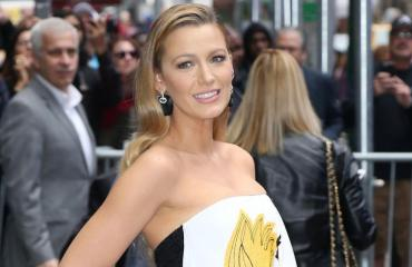 Blake Lively normilookissaan.