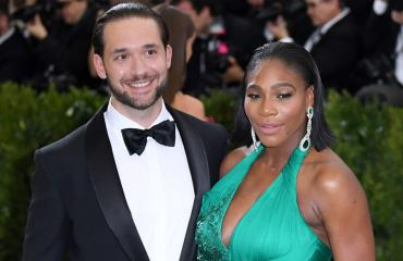 Serena Williams ja Alexis Ohanian