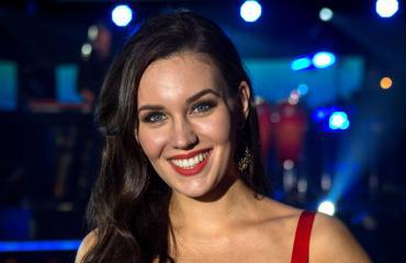Michaela Söderholm edustaa Suomea Las Vegasissa.