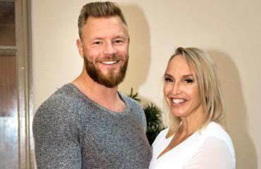 Juha Rouvinen ja Jutta Gustafsberg avioituvat Italiassa.