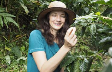 Kirsi Salo osti maata Kolumbiasta.