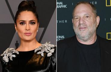 Salma Hayek ja Harvey Weinstein