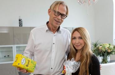 Toivo Sukari ja Nadja-rakas.