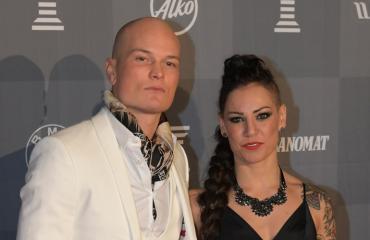 Niklas Räsänen ja Eva Wahlström edustivat Urheilugaalassa.
