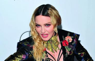 Madonna on ahkera somettaja.