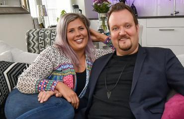 Sami Hedberg ja Ilona Hedberg