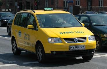 Taksimatka kulki Kööpenhaminasta Osloon.