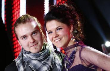 Teemu Roivainen ja Saara Aalto