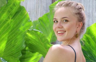 Missi Pihla Koivuniemi oli Balilla kolme viikkoa.