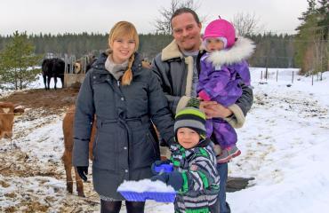 Ville ja Johanna saavat taas perheenlisäystä.