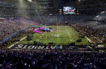 Super Bowl näkyi pornotilastoissa.