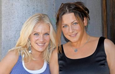 Jonna Geagea ja Erin Anttila