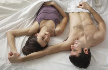 Molemmat saavat orgasmin hyvässä seksissä.