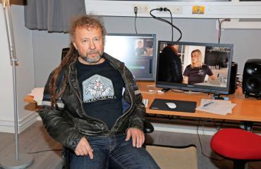 Marko Äijö kertoo Salatut elämät -sarjan tuotannosta.