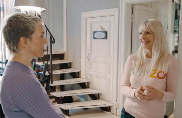 Maria Veitola ja Laura Huhtasaari